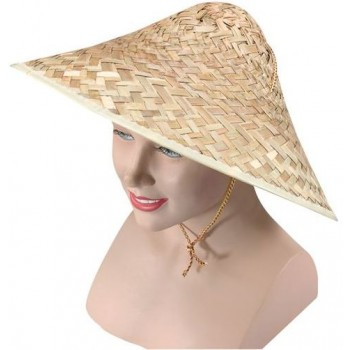 Coolie Hat. Straw Chinese/Vietnamese (Cultures Fancy Dress Hats)