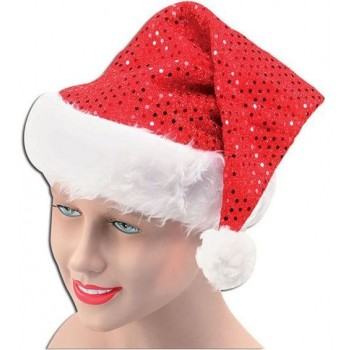 Santa Hat. Sequin (Christmas Hats)