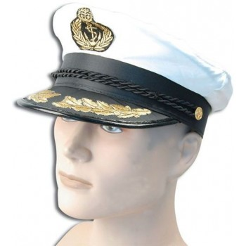 Captains Hat. Deluxe (Sailor Fancy Dress Hats)