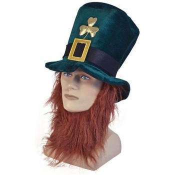Irish Hat + Beard (Cultures Fancy Dress Hats)