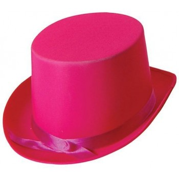 Top Hat. Pink (1920S Fancy Dress Hats)