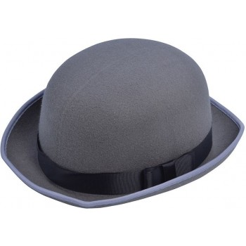 Mens Bowler Hat Grey
