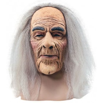 Creepy Old Man Mask & Hair (Halloween Masks)