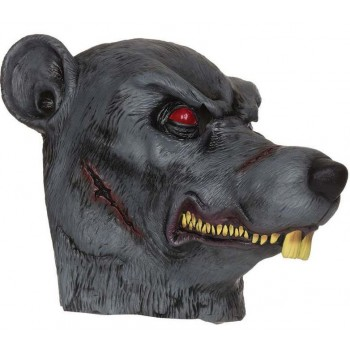 Adult Deluxe Zombie Plauge Rat Halloween Mask Accessory