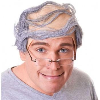 Baldy Man Wig (Fancy Dress Wigs)