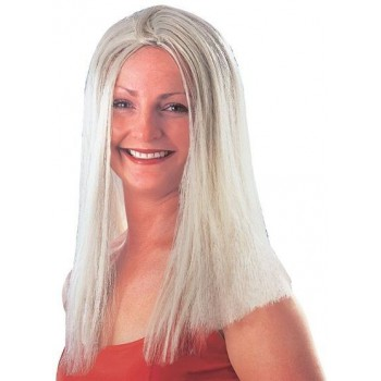 "Long 18"" Wig. Blonde (Fancy Dress Wigs)"