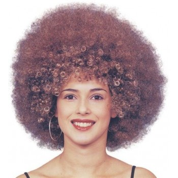Beyonce Afro Wig. Brown (1970S , Music Fancy Dress Wigs)