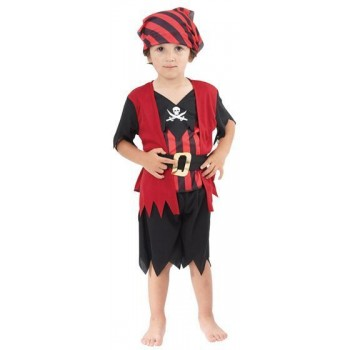 Pirate Boy Mate Toddler Fancy Dress Costume
