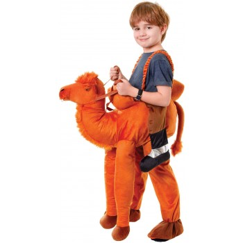 Childs Brown Nativity Play Step In Camel Fancy Dress Costume