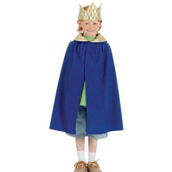 Nativity Tabbard- King. Blue (Royalty , Christmas Fancy Dress)
