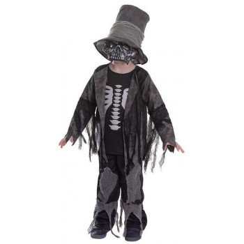 Boys Grave Digger Halloween Fancy Dress Costume