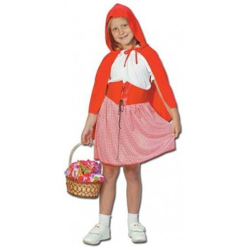 Red Riding Hood Prepacked Fancy Dress Costume