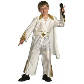 Rock Star/Elvis Fancy Dress Costume
