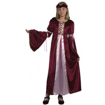 Renaissance Princess (M) Fancy Dress Costume 5-7 Yrs