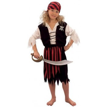 Pirate Girl Fancy Dress Costume