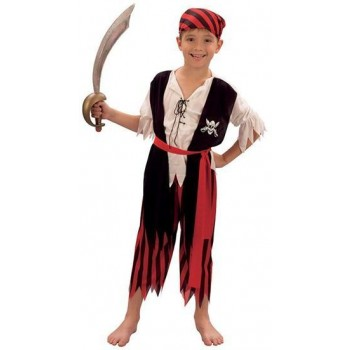 Pirate Boy Jim Fancy Dress Costume