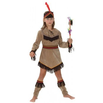 Native American Girl Deluxe Fancy Dress Costume