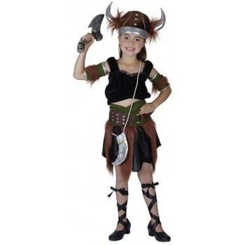 Viking Girl (M) Fancy Dress Costume