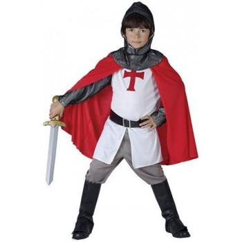 Crusader Boy Fancy Dress Costume