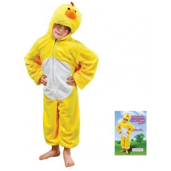 Chicken Plush Fancy Dress Costume