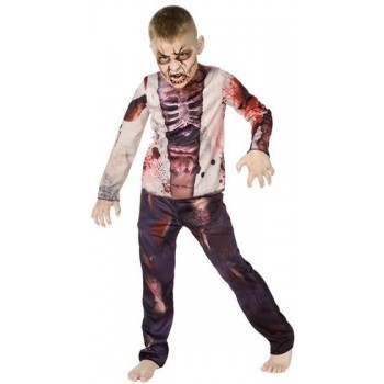 Zombie Boy 3D Fancy Dress Costume