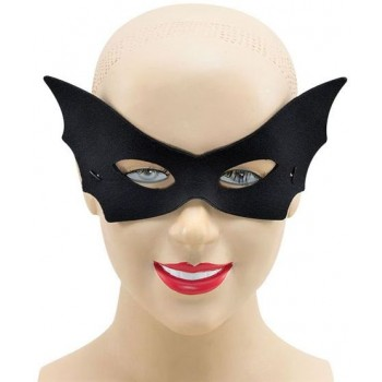 Vamp Domino Black Fancy Dress Eyemask
