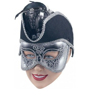Pirate Mask On Band (Pirates Fancy Dress Masks)