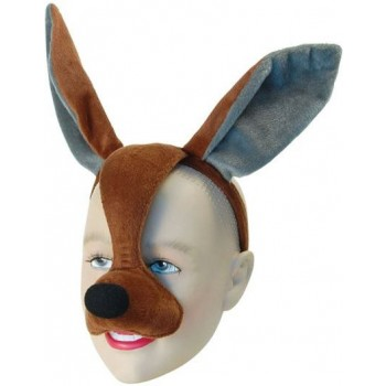 Kangaroo Mask With Sound (Animals Fancy Dress Masks)