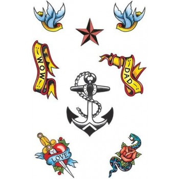 Sailor Theme Tattoos (Sailor Fancy Dress)