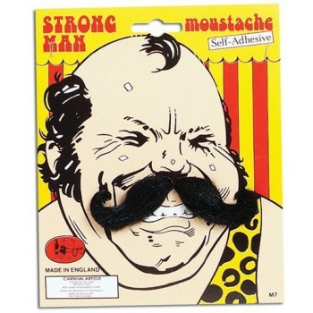Strong Man Tash (Fancy Dress Facial Hair)