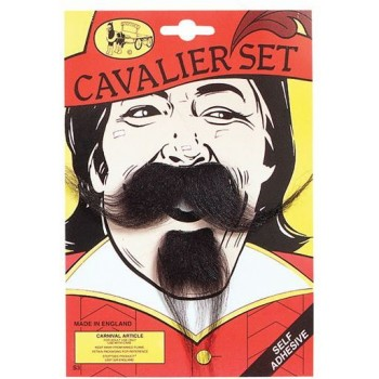 Cavalier Tash (Musketeers Fancy Dress Facial Hair)
