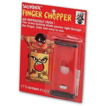 Finger Chopper. Giant Size (Fancy Dress Tricks)