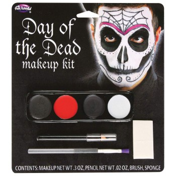 Day Of Dead Makeup Kit (Male)