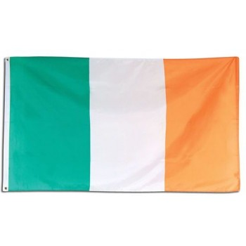 Irish Flag. 3' X 5'. Cloth (Fancy Dress)