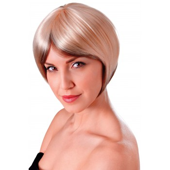 Blended Bob Blonde and Brown Wig