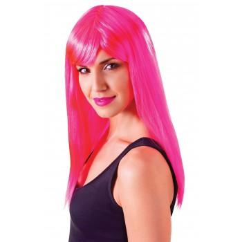 Passion Neon Pink Wig
