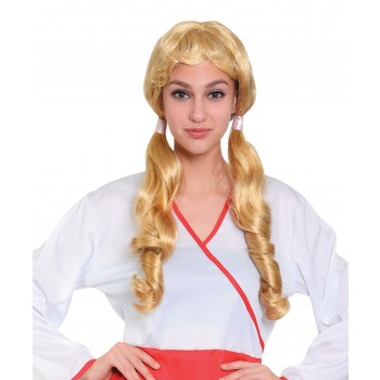 Long Pigtail Wig
