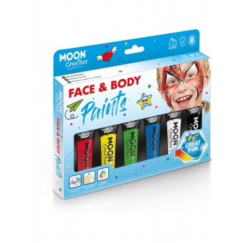 Moon Creations Face & Body Paint Assorted