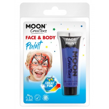 Moon Creations Face & Body Paint Dark Blue