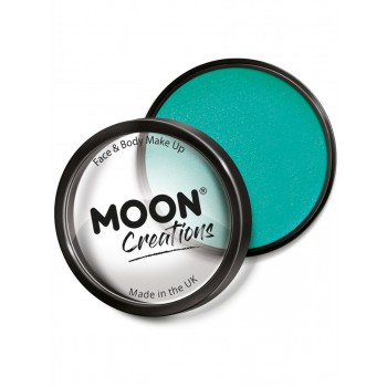 Moon Creations Pro Face Paint Cake Pot Turquoise