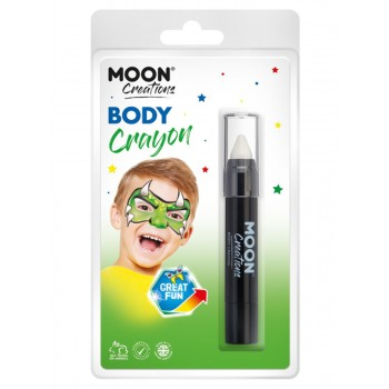 Moon Creations Body Crayons White