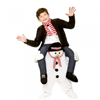 Carry Me® - Snowman KIDS Costume (Christmas)