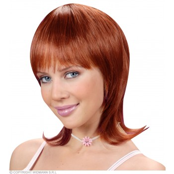 Celine Wig - Auburn - Fancy Dress