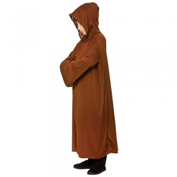 Kids Hooded Robe - Brown Accessories