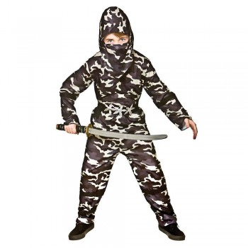 Delta Force Ninja Fancy Dress Costume