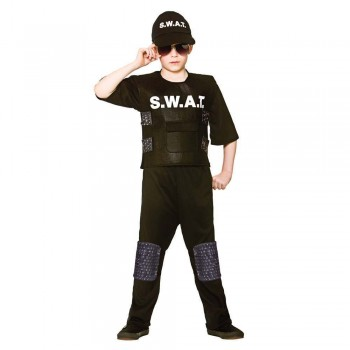 SWAT Commander Fancy Dress Costume