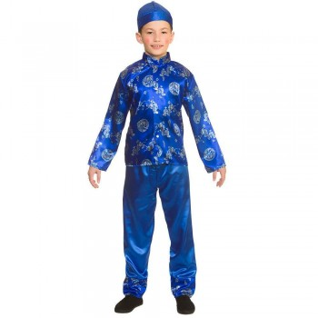 Chinese Boy Fancy Dress Costume