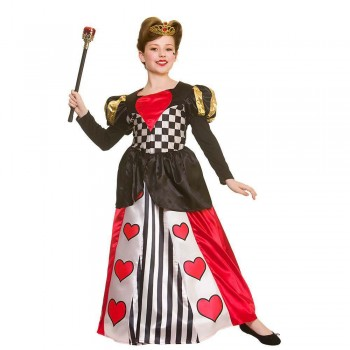 Deluxe Queen of Hearts Fancy Dress Costume