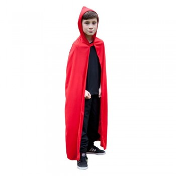Childs Hooded Cape - RED Accessories