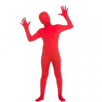 Kidz Skinz - Red Fancy Dress Costume